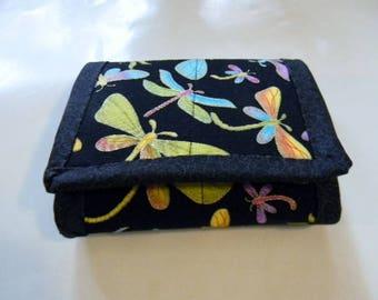 Dragonfly Tri-fold Wallet