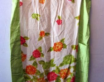 Vintage Sun Fashions of Hawaii print dress