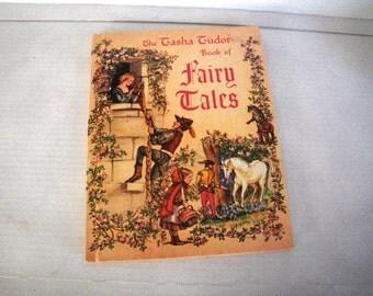 Tasha Tudor Book of Fairy Tales 1969 printing Platt & Munk