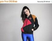40% Limited time SALE  - 1990s Air Jordan Nike Colorblock Hip Hop Windbreaker Jacket  - Vintage Air Jordan Nike Jacket  -  Nike Windbreaker