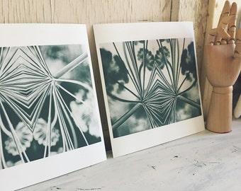 Abstract (set of 2) - fine art print set