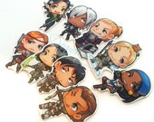 Dragon age 2 MAGNET set of 9