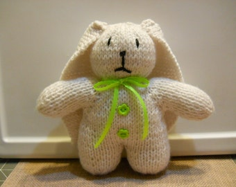 White Bunny, Easter Bunny, Luxury Lop Eared Bunny, Child's Bunny Toy