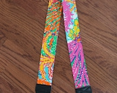 CAMERA STRAP in Lilly Pulitzer Fishing For Compliments