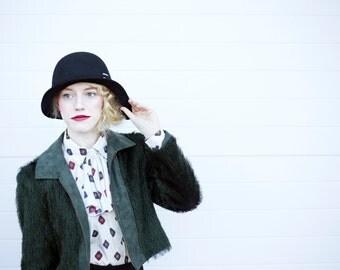 The Joyce, Black: classic woman's hat for the feminine beauty