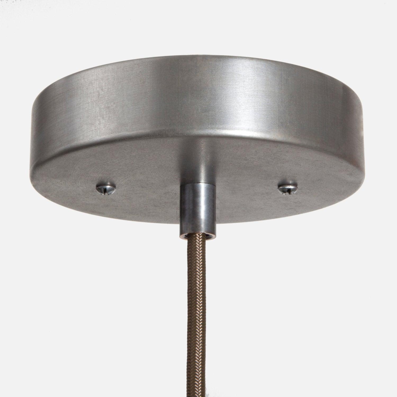 Vintage Silver Ceiling Canopy Kit Pendant Light Ceiling Box