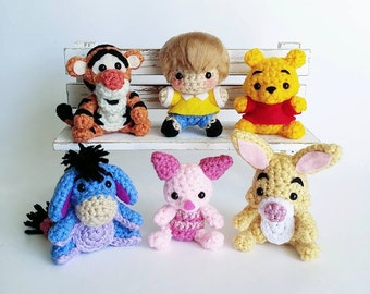 Winnie the Pooh Amigurumi