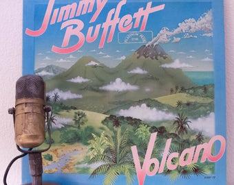 "ON SALE Jimmy Buffett Vinyl Record Album 1970s Parrothead Island Life LP, ""Volcano""(Original 1979 Mca Records)"