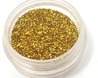 Embossing Powder in Gold Sparkle, Metallic, Jewelry making, Paper crafting, embossing