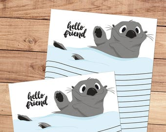 Hello Friend - A5 Stationery - 12, 24 or 48 sheets