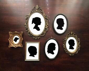 Custom Silhouette •Child, Couple, Family & Pet