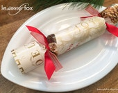 Christmas Crackers - Golden Botanicals - Cream and Gold - Gift - Stocking Stuffer