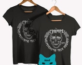 the Cramps  T shirt screen print short sleeve  legion of the Cramps