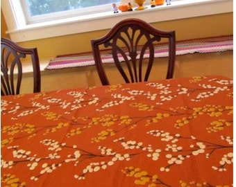 Table Cloth #44:  Small Table Cloth, Table Cloth, Tablecloth, Table Cloths, Tablecloths, Table Linen, Small Table, Kitchen Table, Home Decor