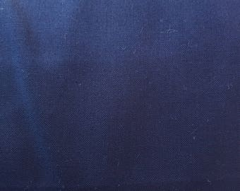 """Solid Navy Blue 108"""" wide back 100% cotton fabric"""