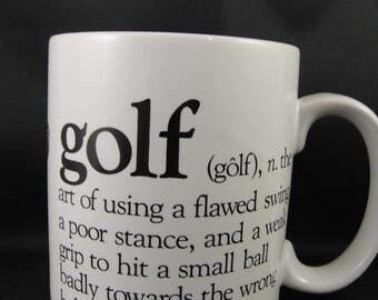 Golf Mug Beard & McKie - Golf Definition