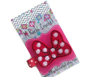 Bow hair clip, baby hair clip, bow felt clip, hairbow clip, toddler hair clip, hair accessory, baby accessory, hair clippies