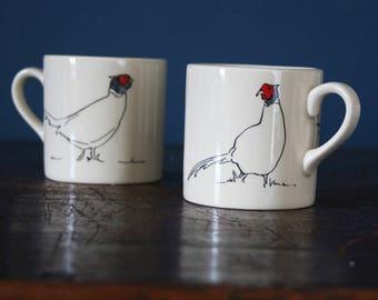 Pheasant Espresso cup
