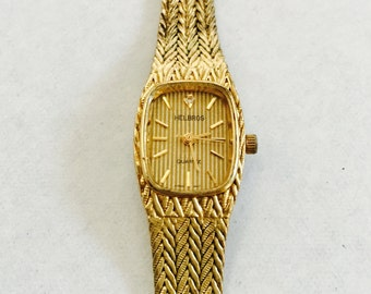 Gold Helbros Watch