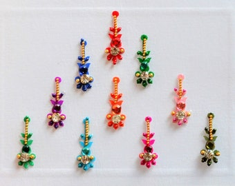 Bindi Self Adhesive Indian Dots Bollywood Belly Dance Cross