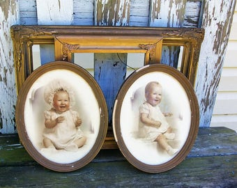 Set of 4 Vintage Picture Frames for Gallery Wall, Wedding Decor, Nursery Decor