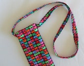 Eyeglass Case Neck Strap Soft Fabric Eyeglass Case With Lanyard Sun Glass Case with Neck Strap Gift for Her Handmade in USA