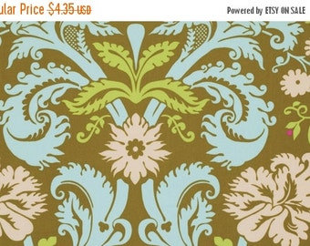 Christmas Sale Amy Butler Fabric - Acanthus in Olive from the Belle Collection - Half Yard