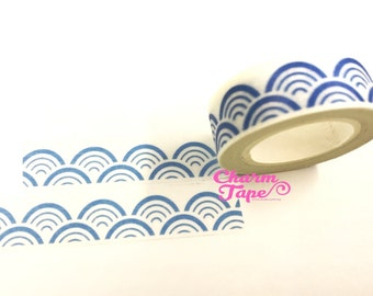Wave Washi Tape 15mm x 10m WT1043
