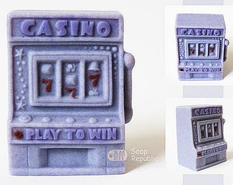 Soap Republic Casino Slot Machine Silicone Soap Mold