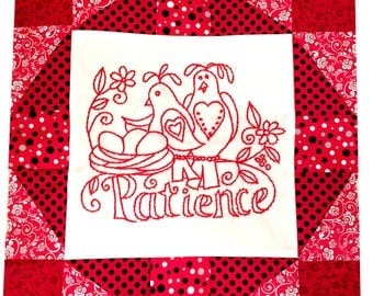 quilt pattern, quilt, quilting, embroidery, pattern, family, sewing, redwork, digital pattern