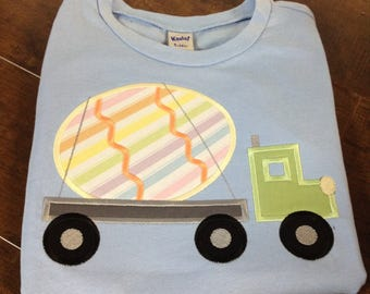 Boys Easter shirt, Personalized shirt, Easter Truck, Easter Shirt, Easter Bunny, Children's shirt, kids shirt, Easter truck shirt, boys tee