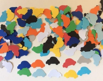 100 pieces car confetti card Making Scrapbooking Table decoration confetti
