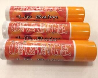 Orange Lip Balm