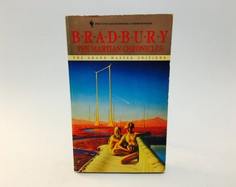 Vintage Sci Fi Book The Martian Chronicles by Ray Bradbury 1992 Edition Paperback
