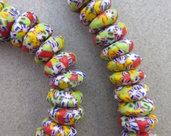 African 'Confetti' Glass Beads