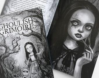 Ghoulish Grimoire - Horror Zine Art Book - Issue 2