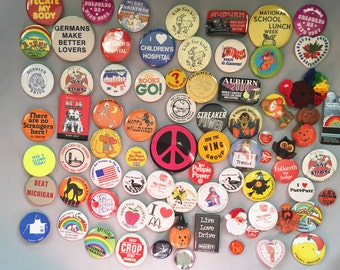 Pinback Button Collection