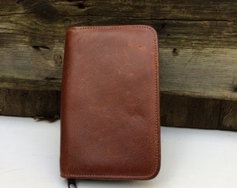 Leather Wallet Phone Case Billfold Pocket Organizer Cellphone Holder Vintage