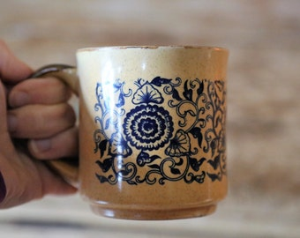 Vintage Retro Ceramic Coffee Mug