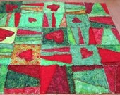 Ode to the Grinch Rag Quilt