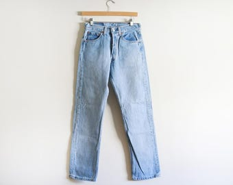 """Vintage Levis 501 Jeans Made in the USA W 28"""""""