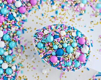 VINTAGE KITTEN Twinkle Sprinkle Medley, Pastel and Gold, Canadian Sprinkles