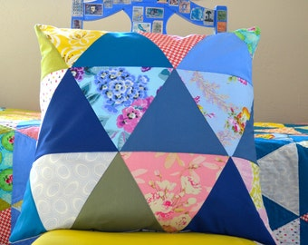 Triangle Modern Pillow Cover