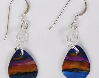 Hawaiian Sky Earrings