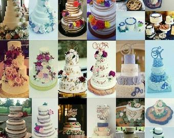 Wedding Cake Ornament, Wedding Cake Replica, anniversary Gift, Newlywed, wedding cake replica, first christmas ornament, 1st christmas gift