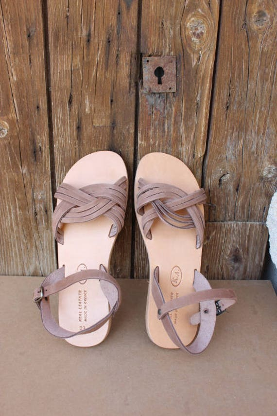 SALE SIZE 39 US 8-8.5  Leather sandals! Greek   leather sandals women's sandals,sandales femme sandales grecques 39