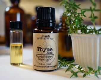 Thyme Essential Oil - Red Thyme - Thymus vulgaris
