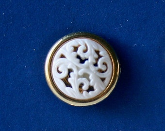 Vintage Filigree Matching Buttons for Sewing and Crafting