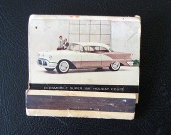 1956 Oldsmobile Match Book
