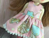 Blythe Middie or Lati Yellow Dress - Little Twin Star